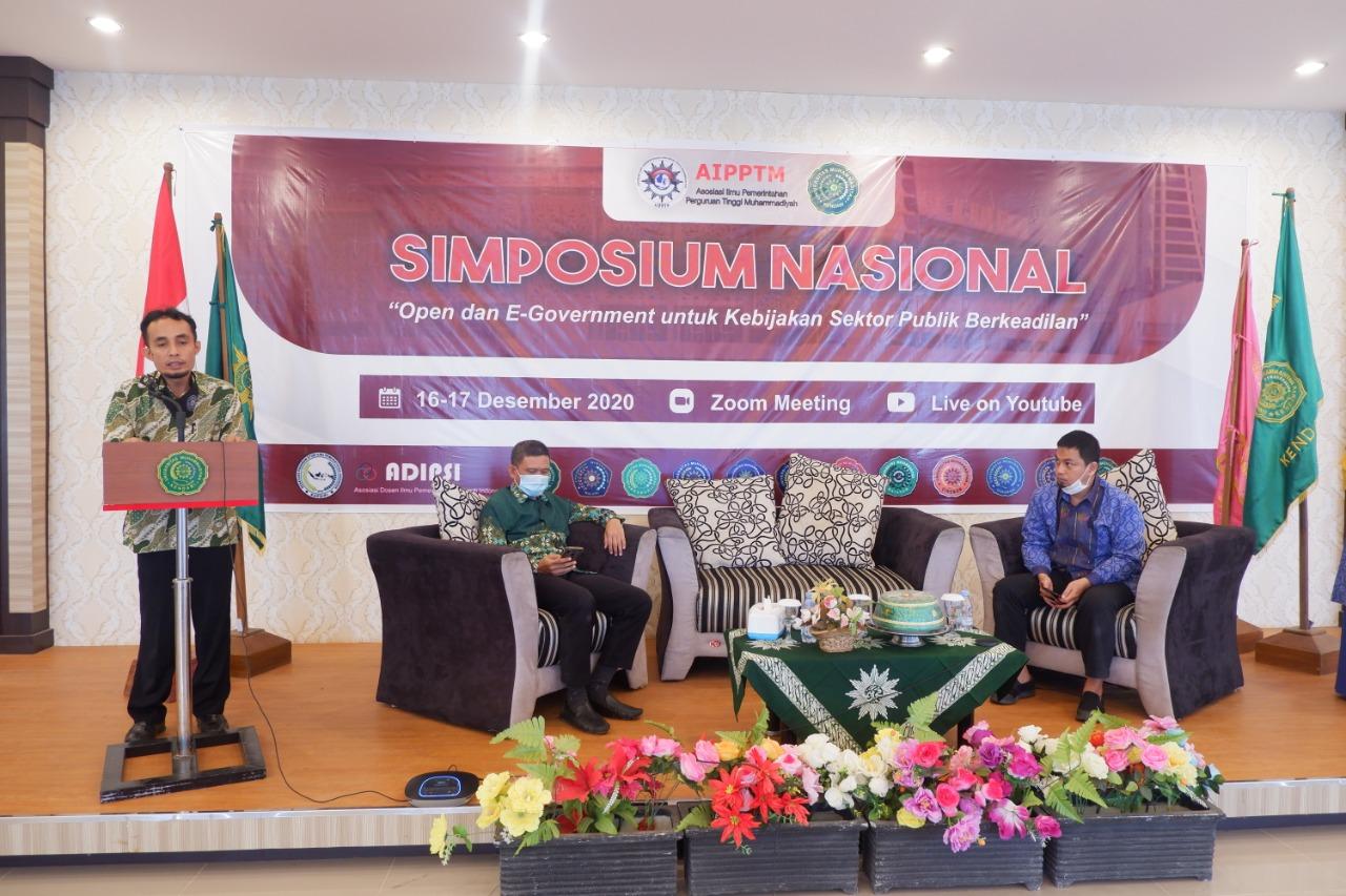 Rektor UM Kendari Resmi Buka Acara Simposium AIPPTM
